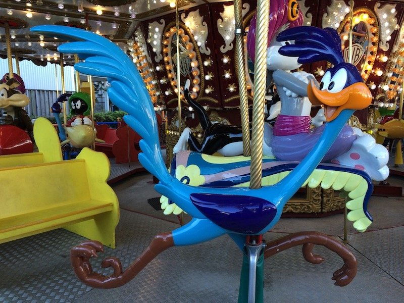 photo - movie world for toddlers carousel