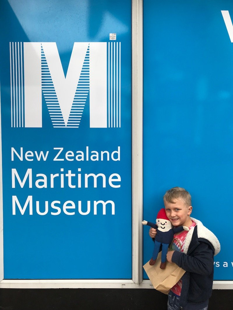 photo - new zealand maritime museum with rtg