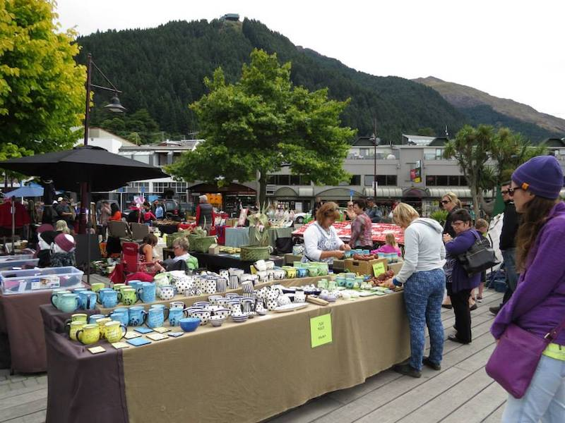 queenstown arts and crafts market pic