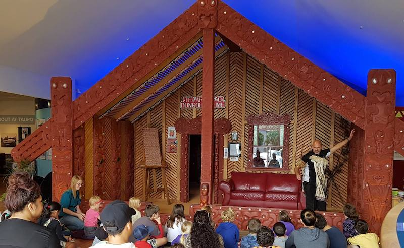 taupo museum storytelling for kids image