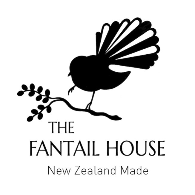 the fantail house new zealand made logo pic