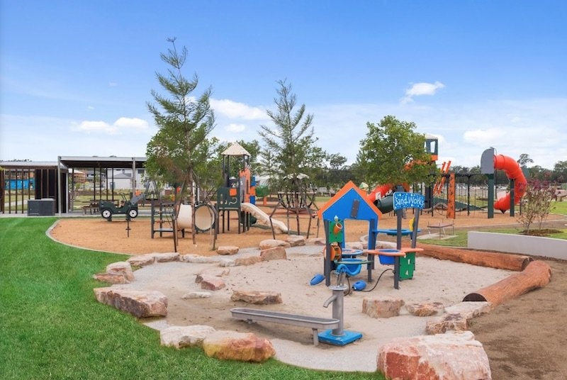 the surrounds playground helensvale by villaworld