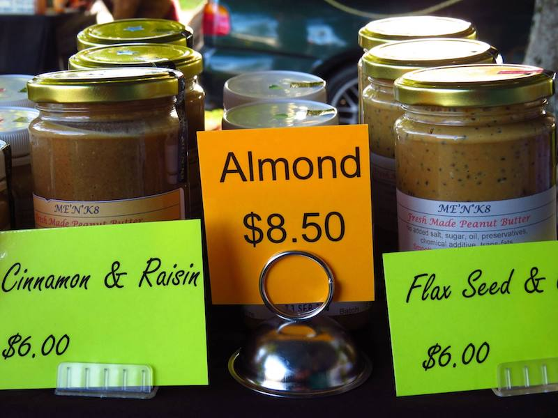 the taupo market jams image by fb