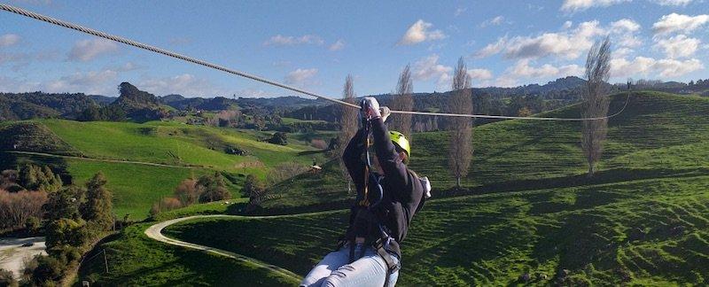 waitomo ziplining