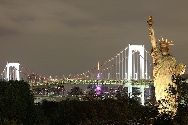 Image - rainbow bridge tokyo by kazuend by unsplash