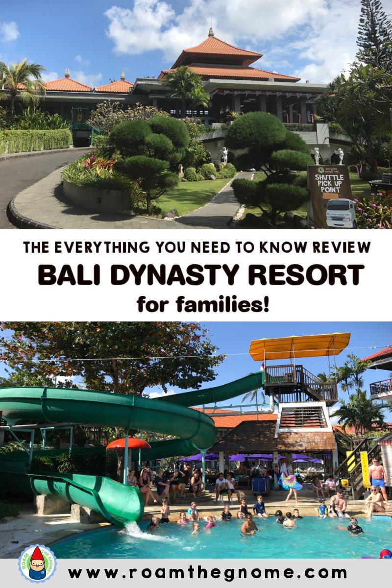 PIN bali dynasty resort