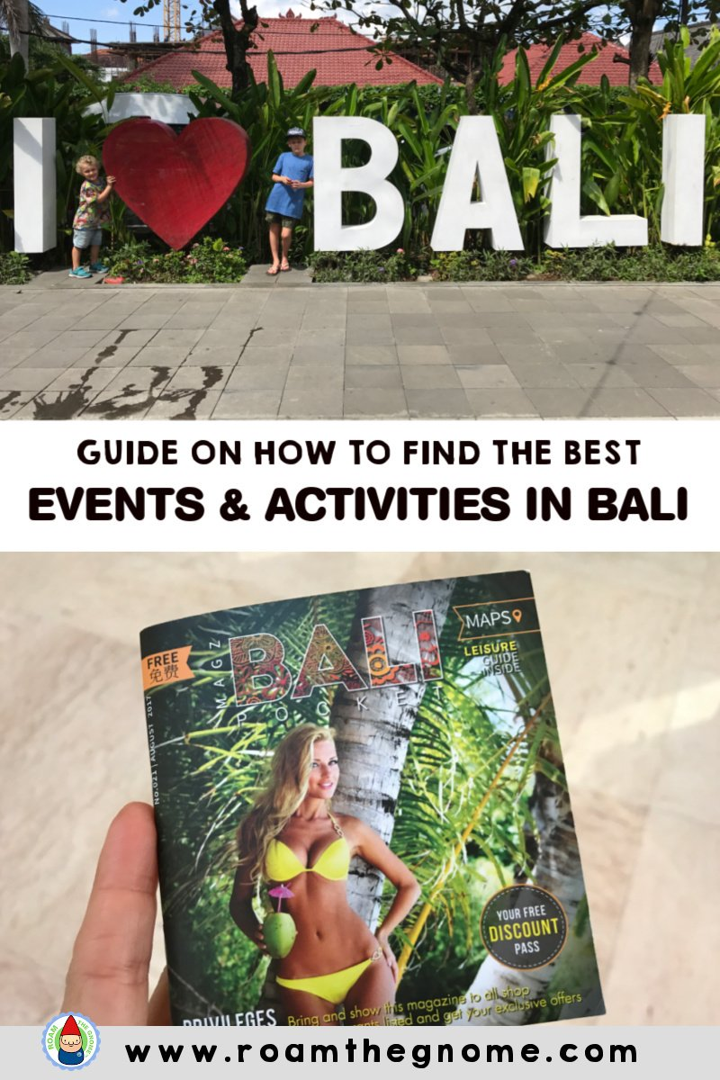 PIN bali points of interest & events