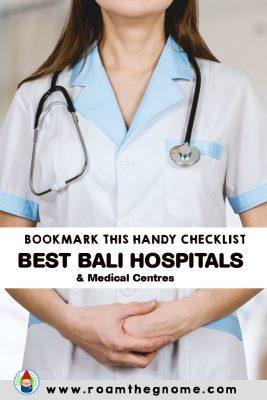 PIN best bali hospitals