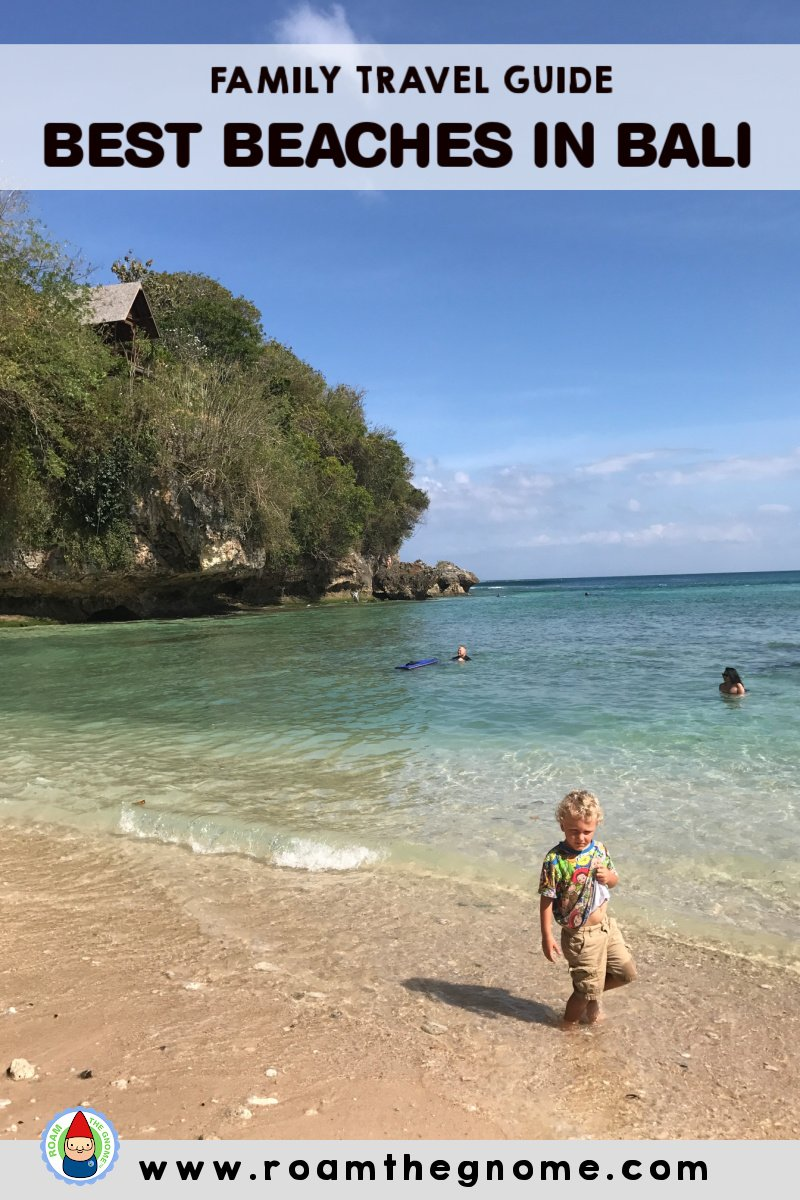 PIN best beaches in bali for families