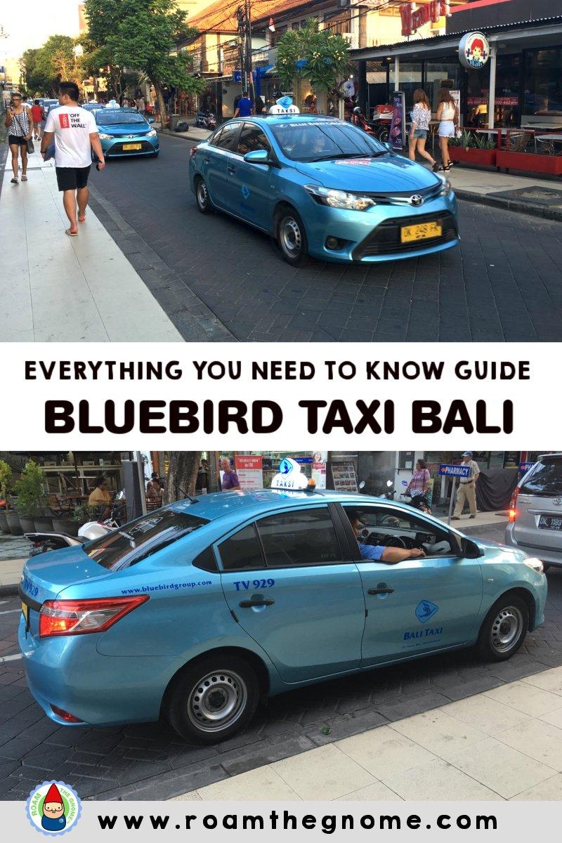 PIN bluebird taxi bali