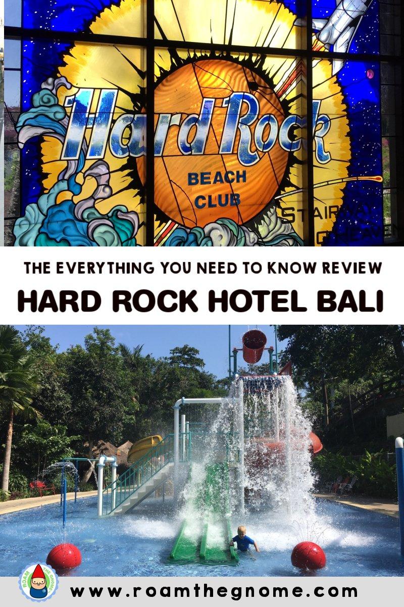 PIN hard rock hotel bali