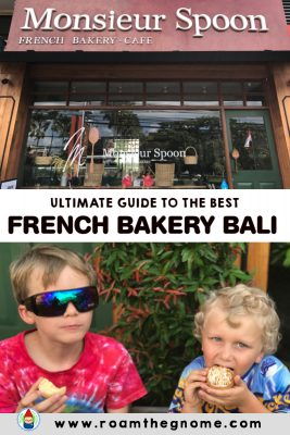 PIN monsieur spoon bali french bakery seminyak