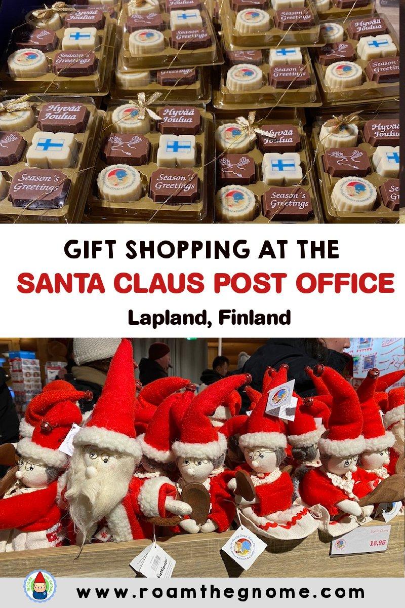 PIN santa post office gift shop