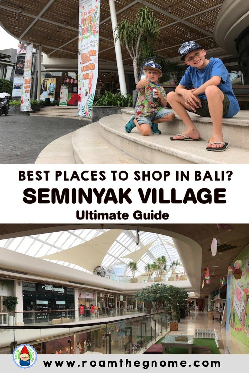PIN seminyak village in post