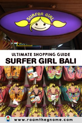 ULTIMATE GUIDE TO SURFER GIRL BALI STORES