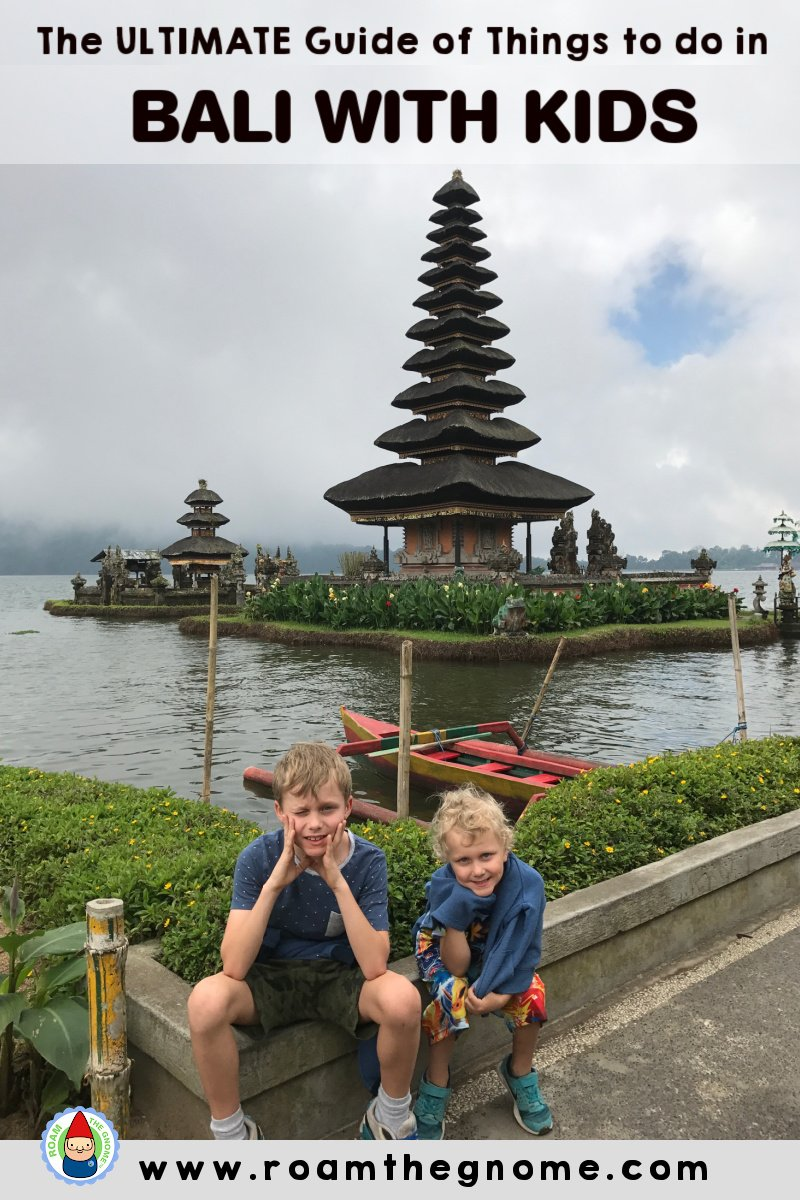 PIN best things to do in bali with kids