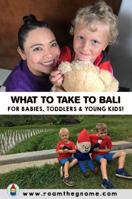 PIN what to take to bali