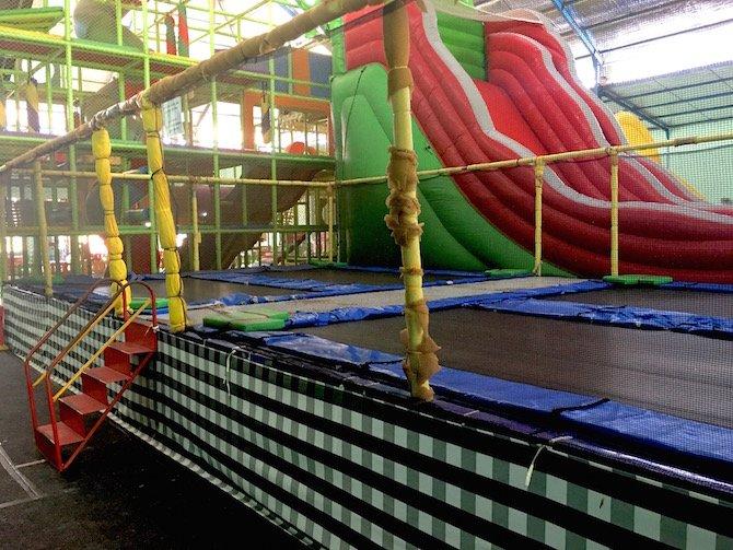 Photo- Bali Fun World trampolines