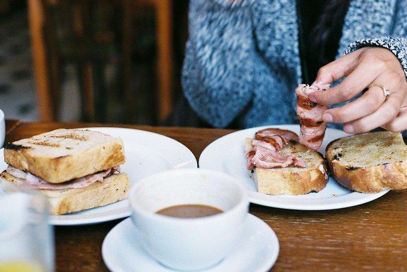 image - english breakfast sandwich by nicholas brett