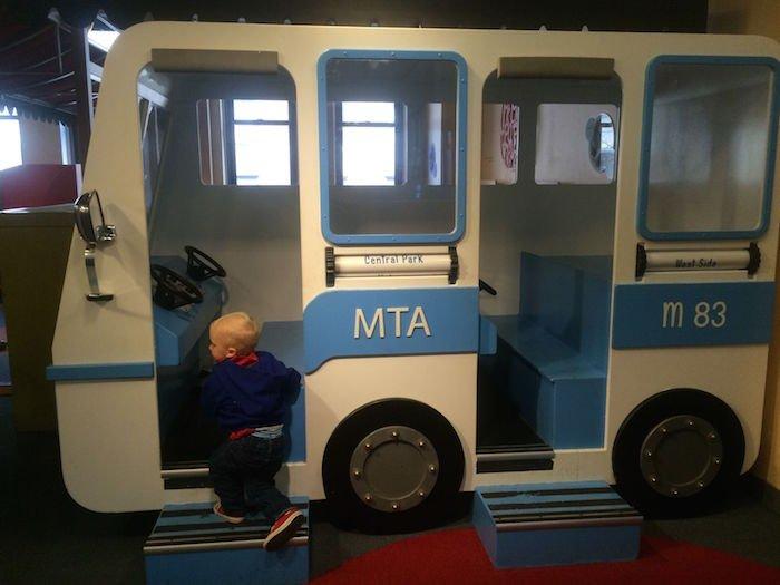 image - Childrens Museum of Manhattan MTA bus