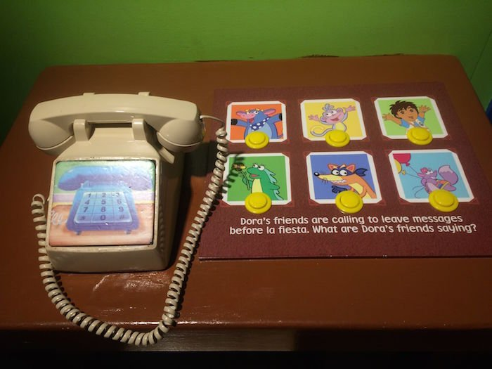 image - Childrens Museum of Manhattan dora phone
