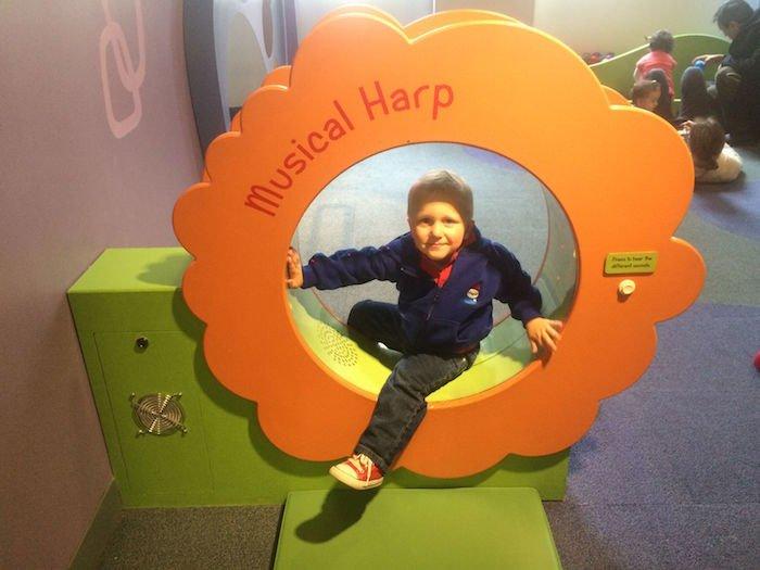 image - Childrens Museum of Manhattan musical harp