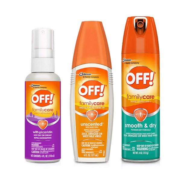 image - OFF repellent family