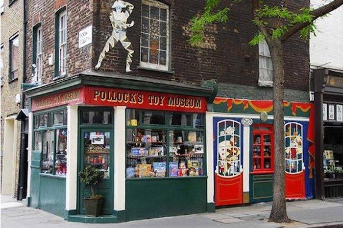 image - Pollocks Toy Museum shop