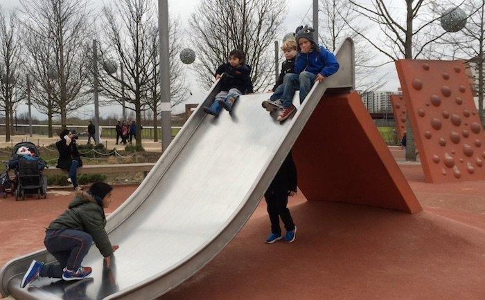 image - adventure playground olympic park slide
