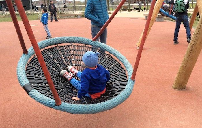 image - adventure playground olympic park spider swing