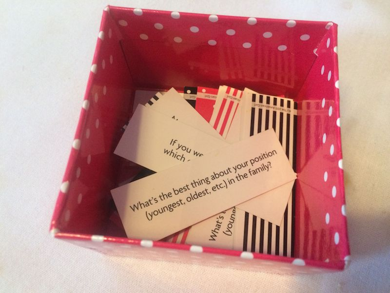 image - american girl cafe box of ideas