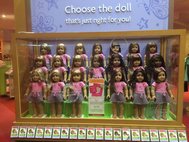 image - american girl cafe doll choices