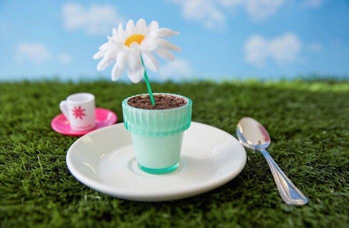 image - american girl cafe flowerpot