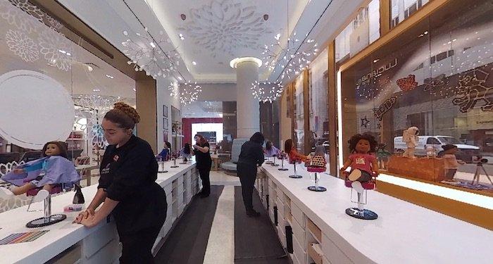 image - american girl cafe hair salon