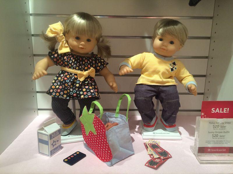 image - american girl store dolls