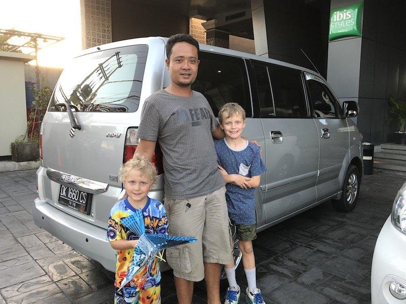 image - bali driver Bali Smart Tours driver Komang