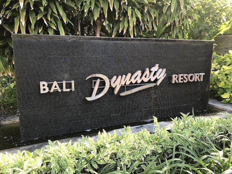 image - bali dynasty resort sign
