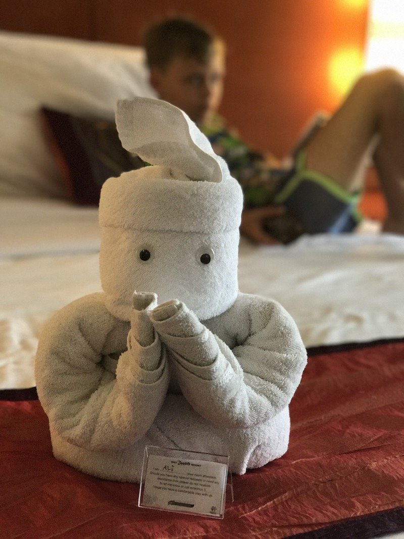 image - bali dynasty towel animals