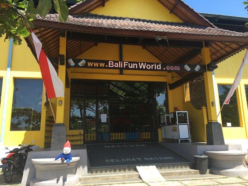 image - bali fun world entrance