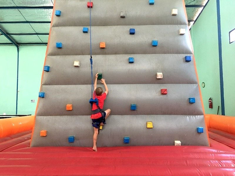 image - bali fun world indoor rock climbing