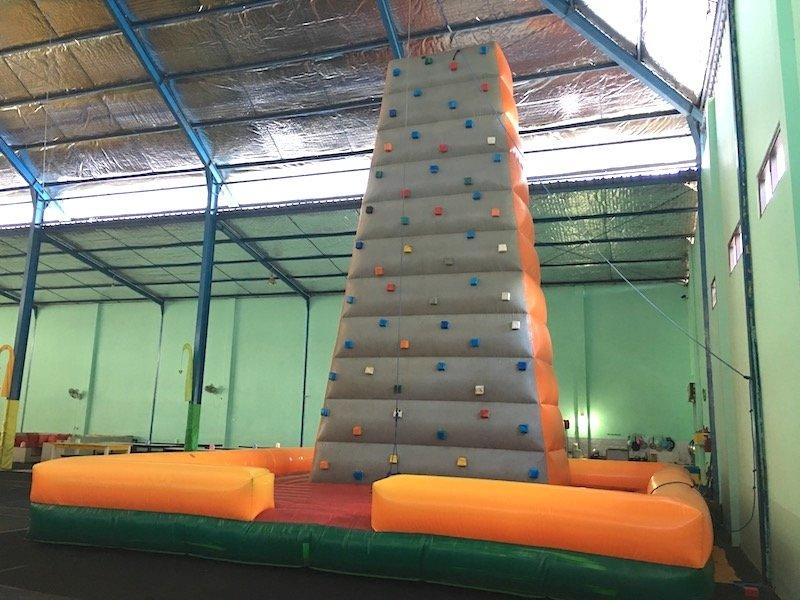 image - bali fun world inflatable rock climbing