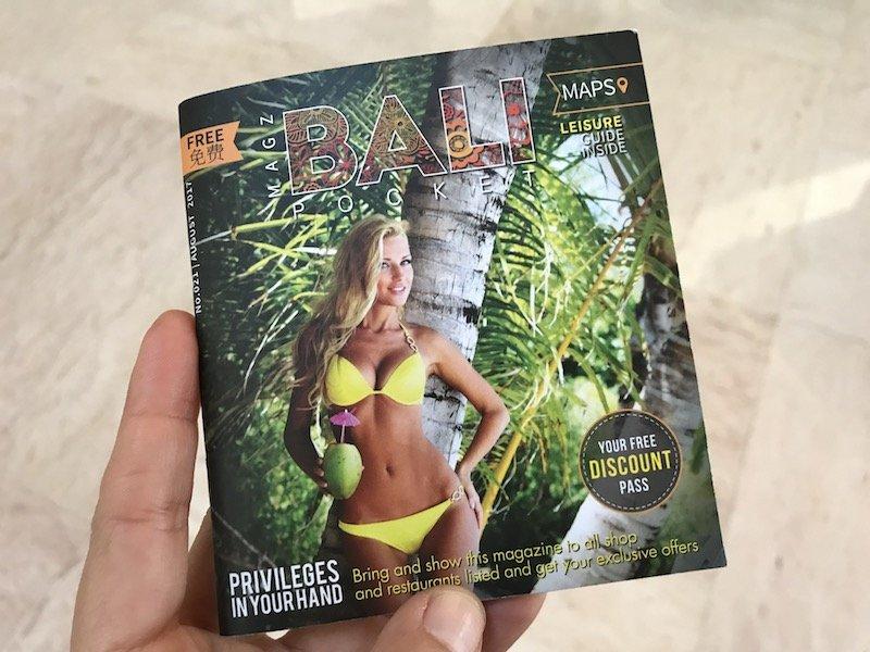 image - bali itinerary - bali pocket inside book