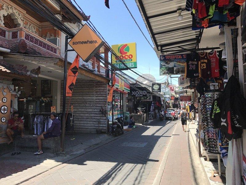 image - bali kuta streets