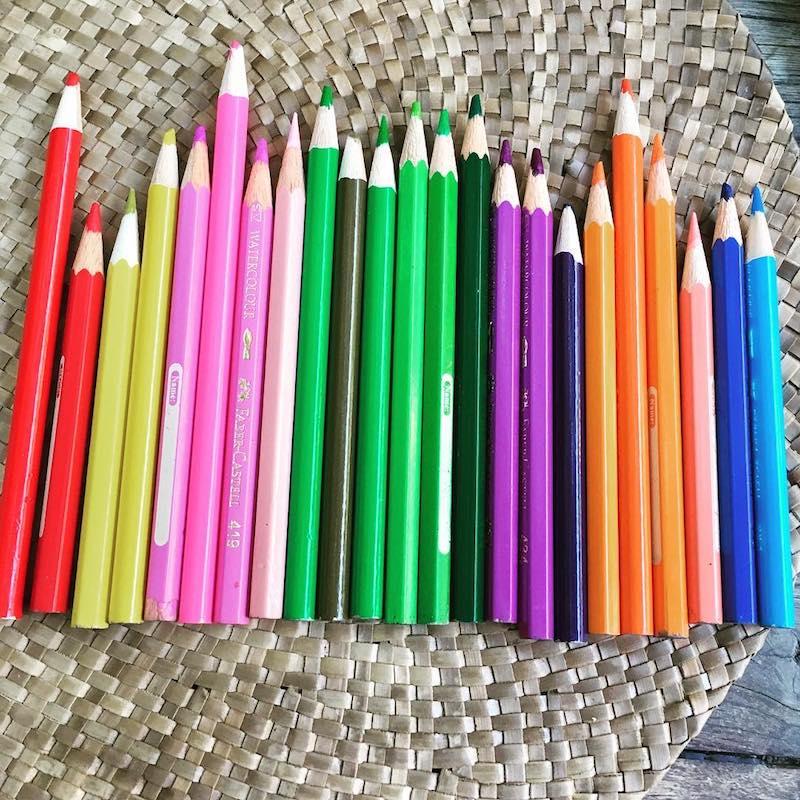 image - biku pencils for colouring in