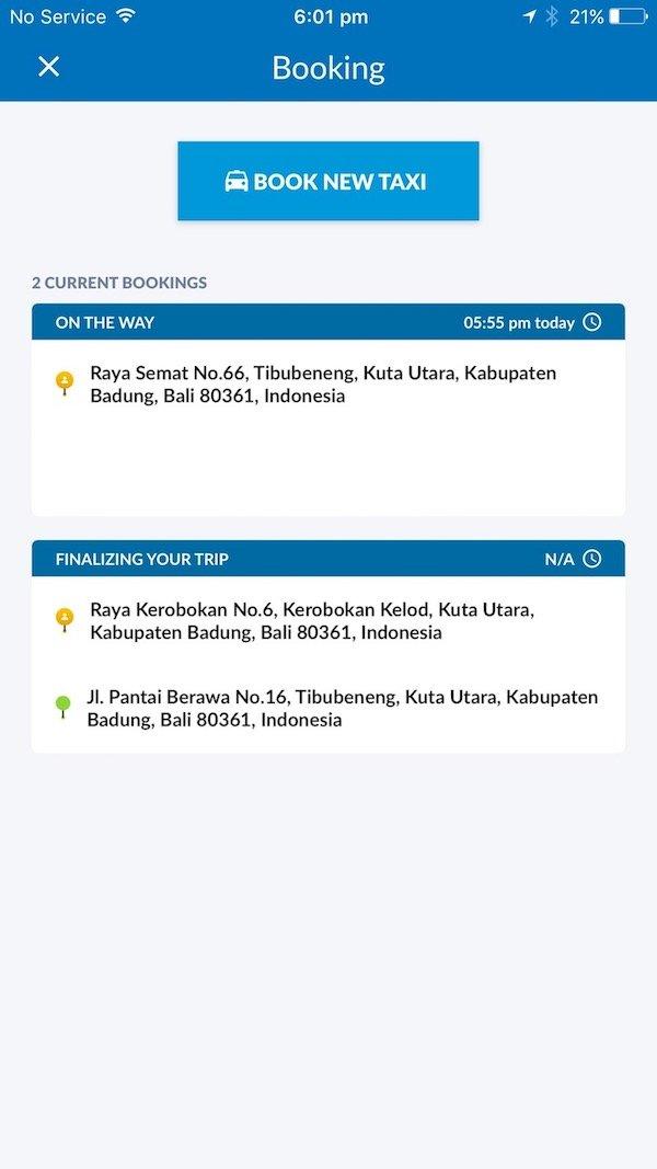 image - bluebird taxi bali app memo