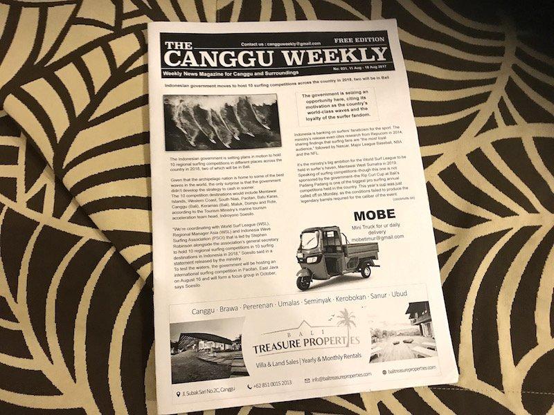 image - canguu weekly - bali itinerary tips