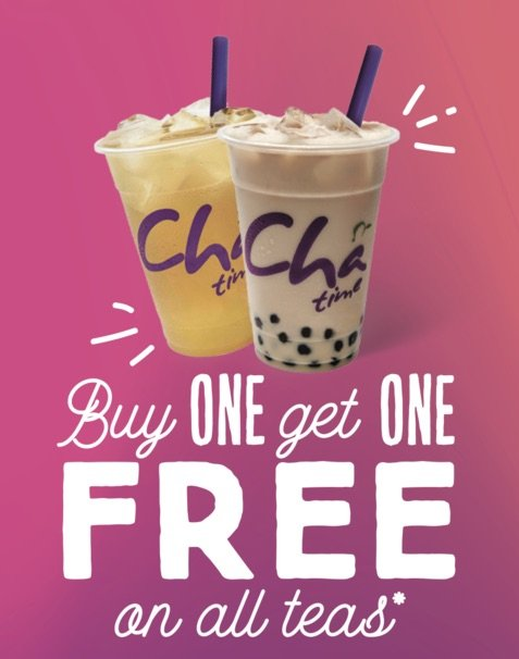 image - chatime buy one get one free