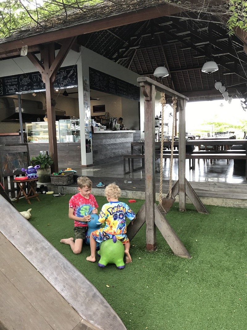 image - cinta cafe canggu playground view