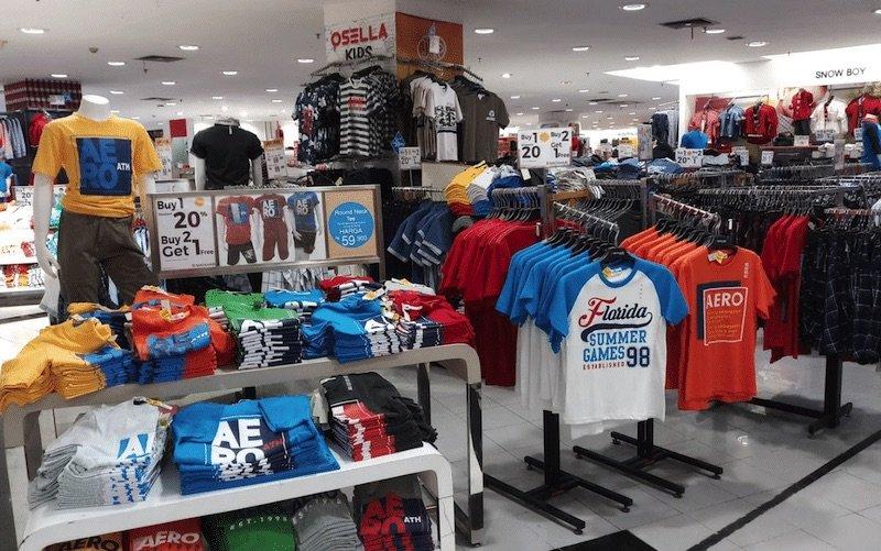 image - clothes shopping at matahari bali