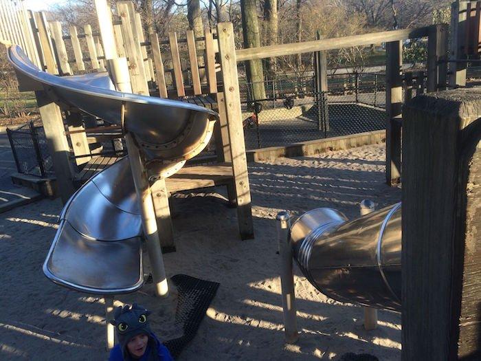 image - diana ross playground Ross Playground central park slides 2